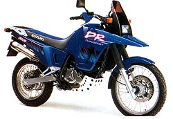 1995 DR800S blue 250 - Suzuki DR800S - a maior monicilindrica do mundo!
