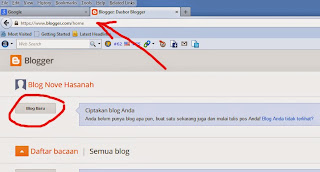 tutorial cara membuat blog di blogspot