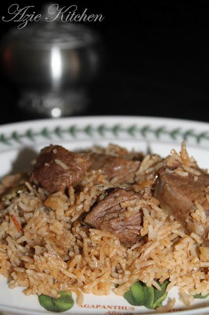 Saudi Beef Kabsa