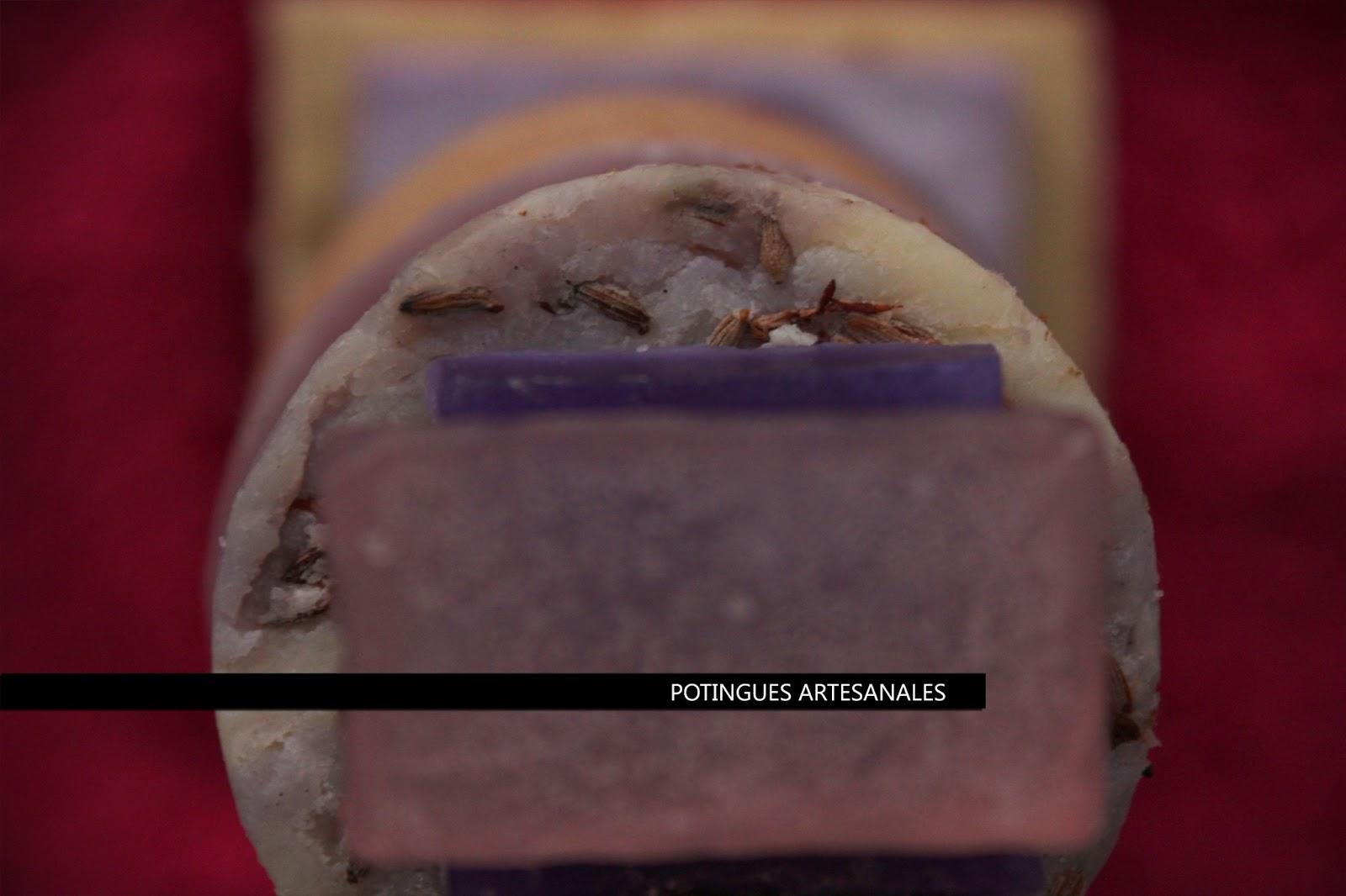 Potingues artesanales y sus productos