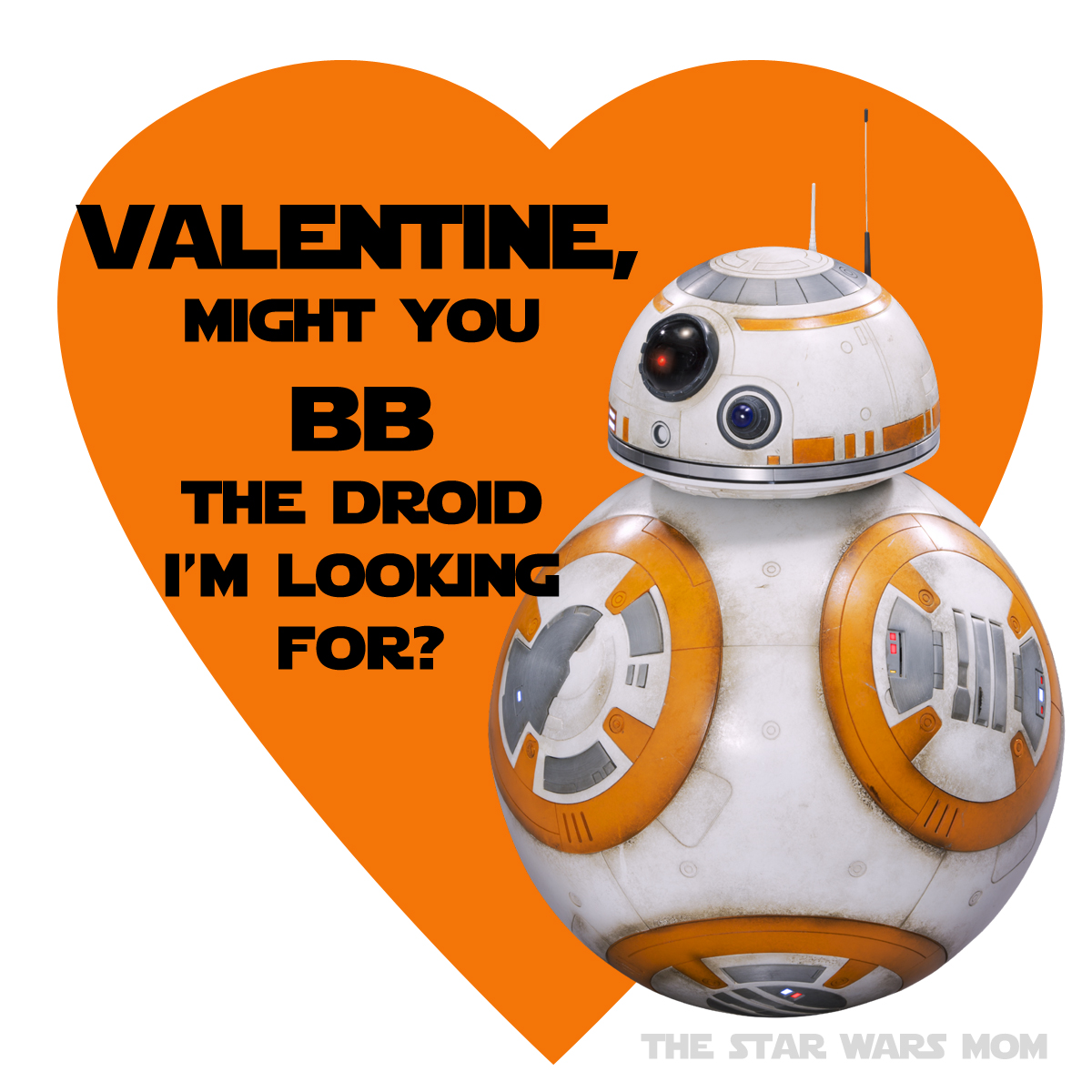 photo relating to Bb 8 Printable identify Kylo Ren, Rey, and BB-8 Valentines Free of charge Printables - The