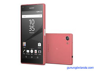 Cara Flashing Sony Xperia Z5 Compact E5803 Via Flashtool