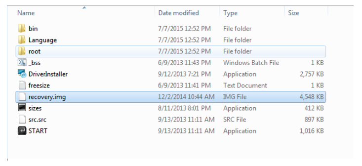 Structure Extract and Repack boot and recovery file in android - How