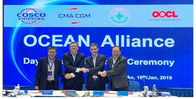 Ocean Alliance unveils New Service offering, to deploy 330 Vessels