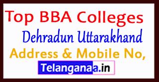 Top BBA Colleges in Dehradun Uttarakhand