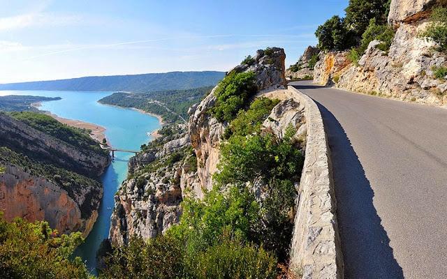 Estrada de Gorges du Verdon - França