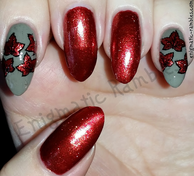 Autumn-Fall-Leaves-Leaf-Nails