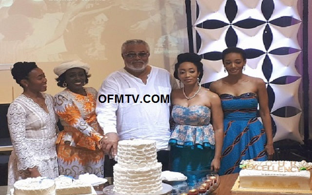 Jerry John Rawlings celebrates 70th birthday with family