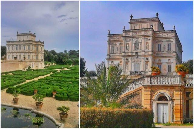 Parque Villa Doria Pamphilj en Roma