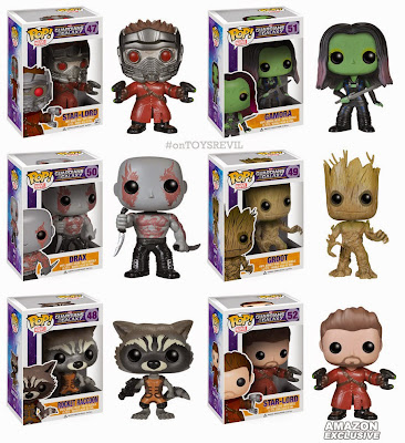 Guardians Of The Galaxy Pop Vinyls Amp Wacky Wobblers By Funko