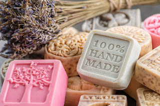 Natural handmade soap vs chemically made soap