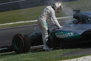 Fiabilidad de los autos de Formula Uno (F1)