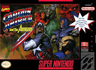 Captain America and The Avengers (Br) [ SNES ]