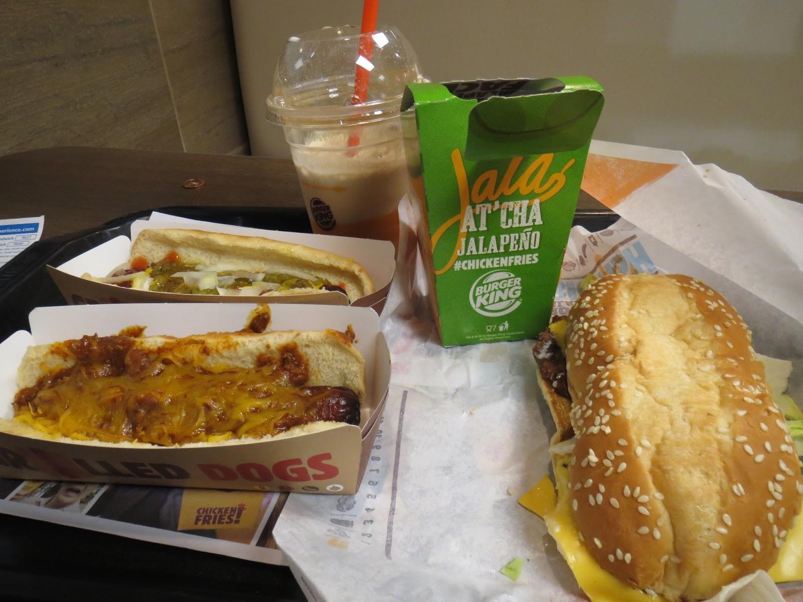 Burger King Bonanza Winter 2016 Edition Dr Pepper Milkshakes Jalapeno Chicken Fries