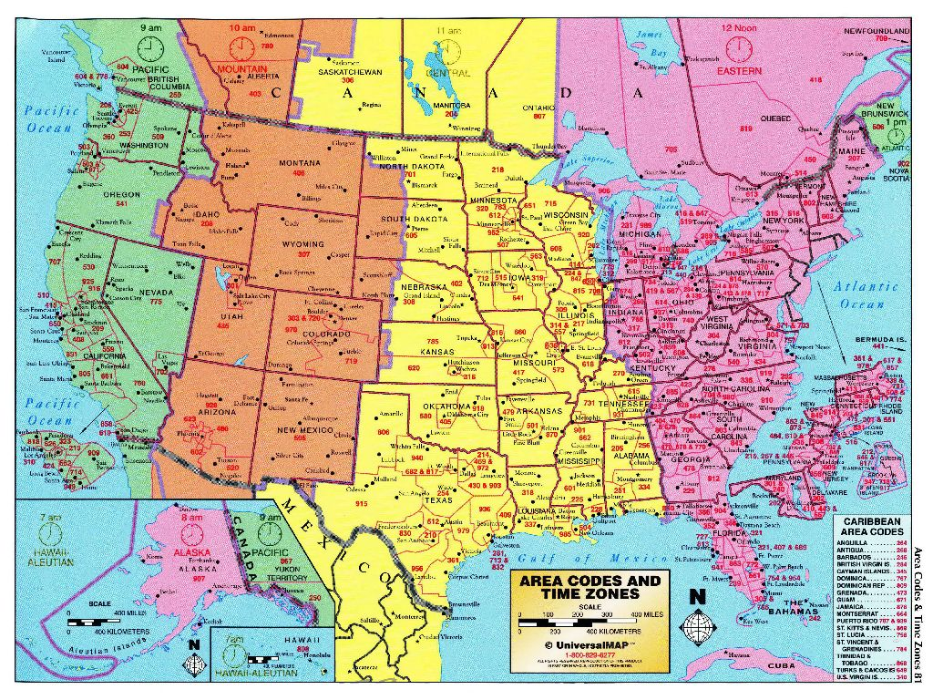 united states time zone map pdf