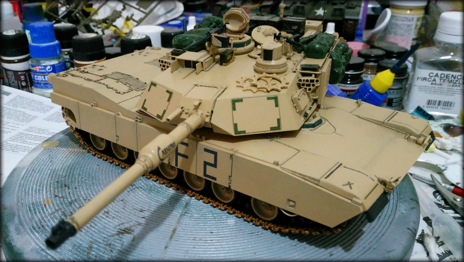 Tanket EU: 1/35 I M1A2 Abrams O I F  I Tamiya