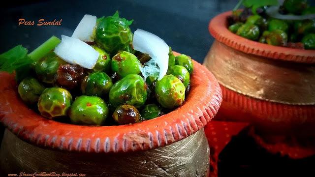 Hare Matar ki Ghugni recipe - Green Peas Sundal