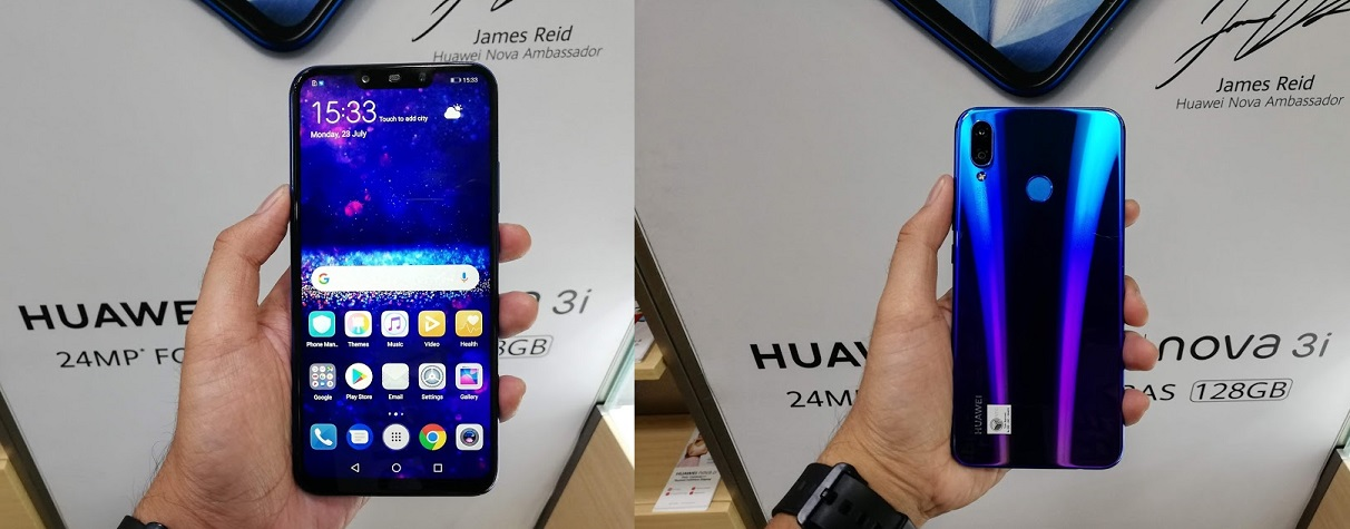 8Telcom Lets us Try the new Huawei Nova 3i and Here's what I