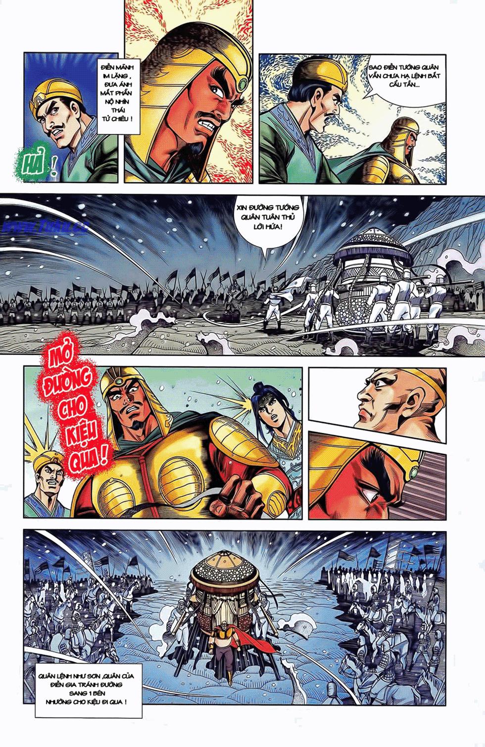 Tần Vương Doanh Chính chapter 11 trang 22