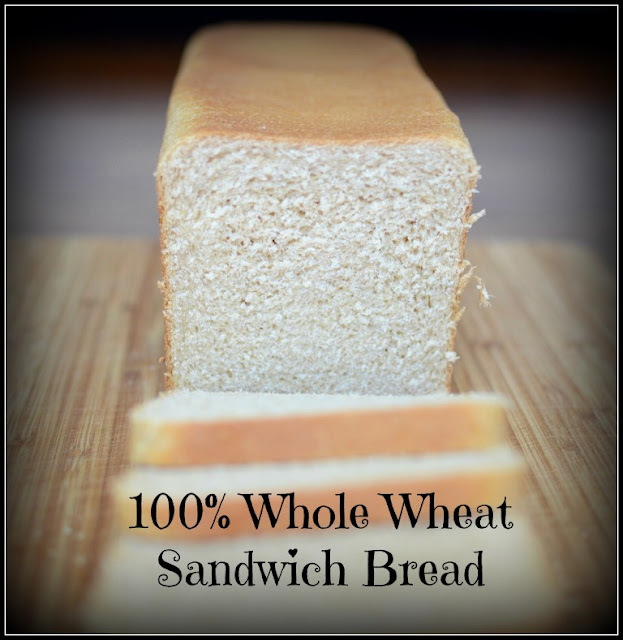 Whole Wheat Sandwich Bread Recipe