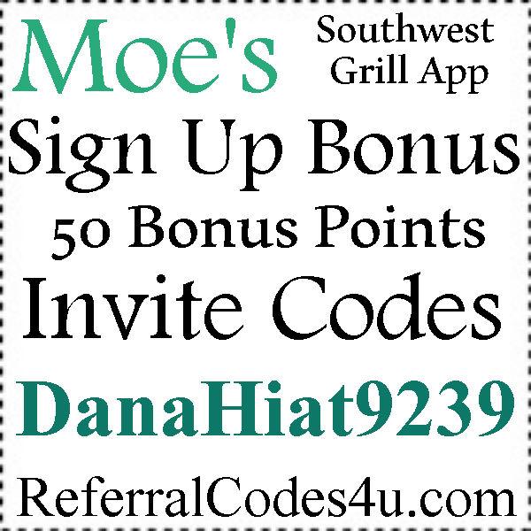Moes Rockin Rewards Invite Code 20172018 DanaHiat9239 Moes App