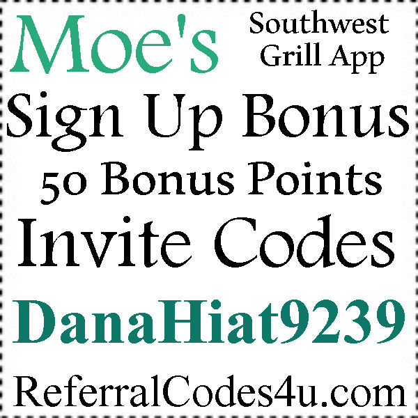 Moes App Invite Code 2016-2021, Moe's Rockin Rewards App Android and Iphone, Moes Southwest Grill Coupons