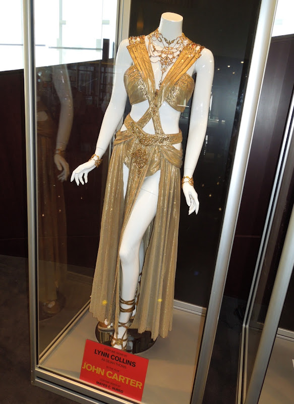 Princess Dejah Thoris Carter movie costume