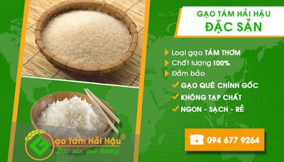 Đại lý cung cấp đặc sản gạo tám thơm tại Hải Hậu Nam Định