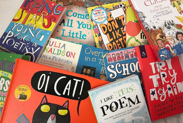 bundle of poetry books for children from premier league writing stars
