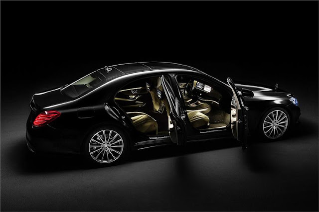 Mercedes Benz S Class interior