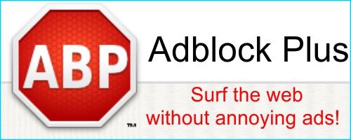 Hilangkan Iklan Menyebalkan Pada Website Dengan Adblock Plus