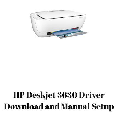 HP Deskjet 3630 Driver Download and Manual Setup