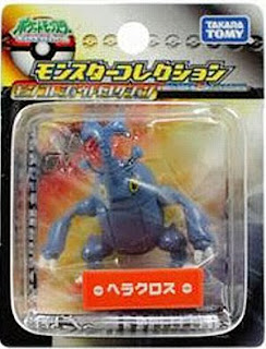 Heracross Pokemon Figure Takara Tomy Monster Collection Johto selection series