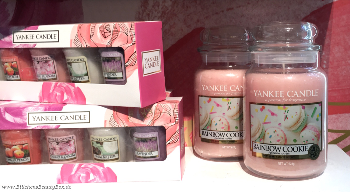Yankee Candle - Alle Kollektionen und Duftbeschreibungen für 2018 - Enjoy The Simple Things - Rainbow Cookie