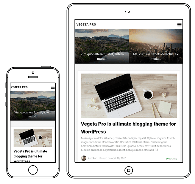 Blogging Responsive WordPress Theme