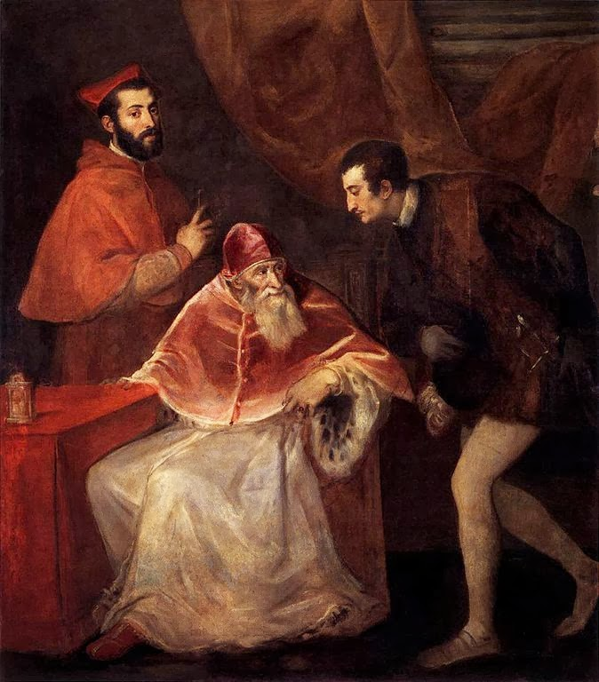 Pope Paul III and His Grandsons