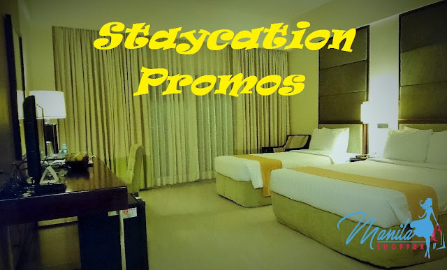 Manila Shopper Staycation Promo