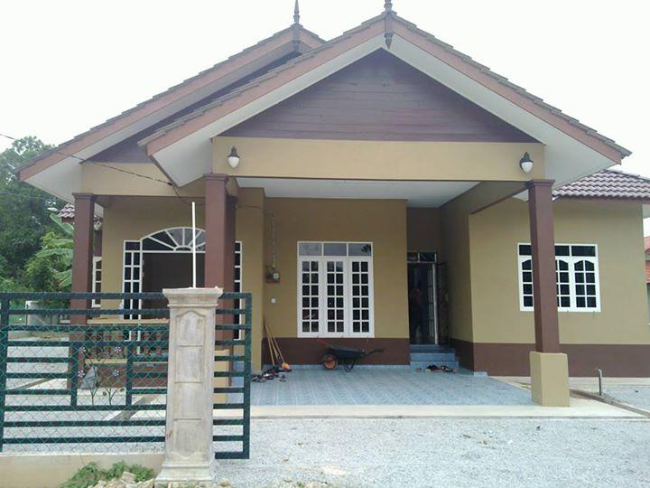 Gambar Teras Rumah Kampung Sederhana  model rumah sederhana di kampung 2020 rumah minimalis modern