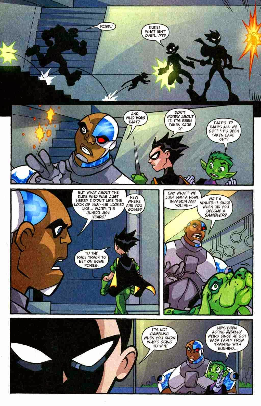 Teen Titans Go Comic Book Series Teen Titans Go Issue -3020