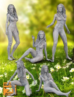 DA Ophelia 7 Classic Poses