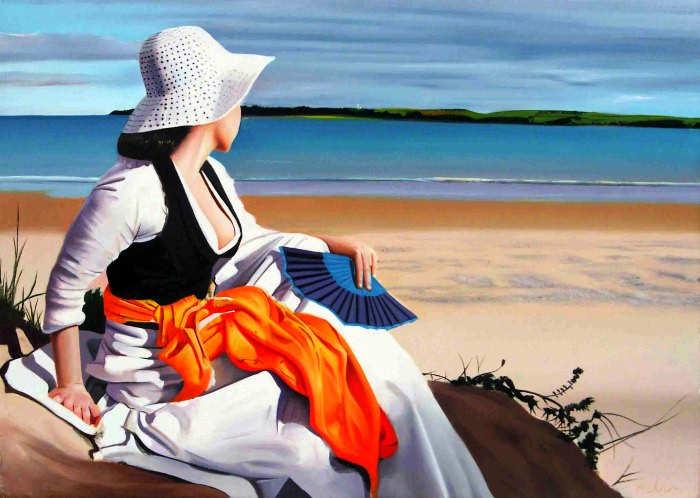 Элегантность в живописи. Michael de Bono 5