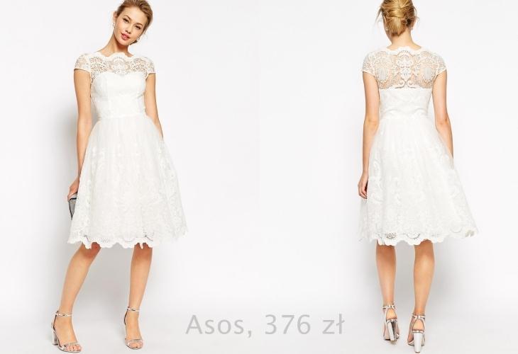 a2ac5a4af8 Lusterko Blog  Suknia ślubna z sieciówki - 35 propozycji
