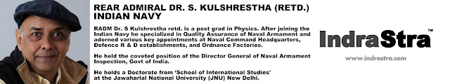 Rear Admiral Dr. S. Kulshrestha (Retd.), INDIAN NAVY