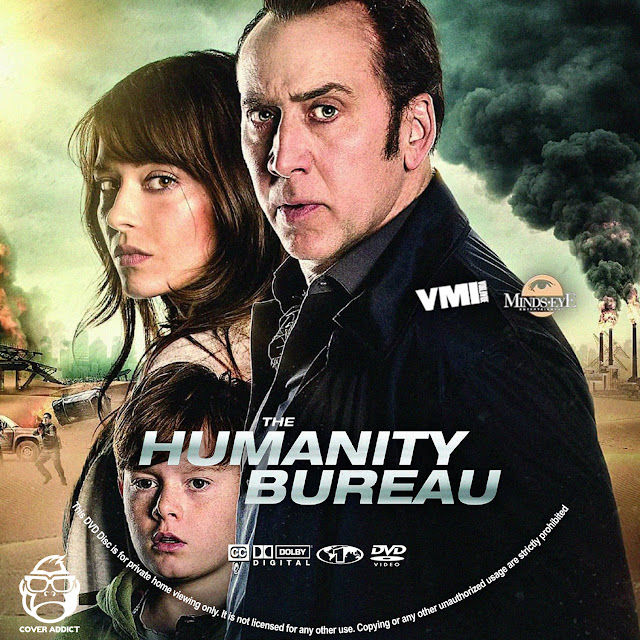 The Humanity Bureau DVD Label