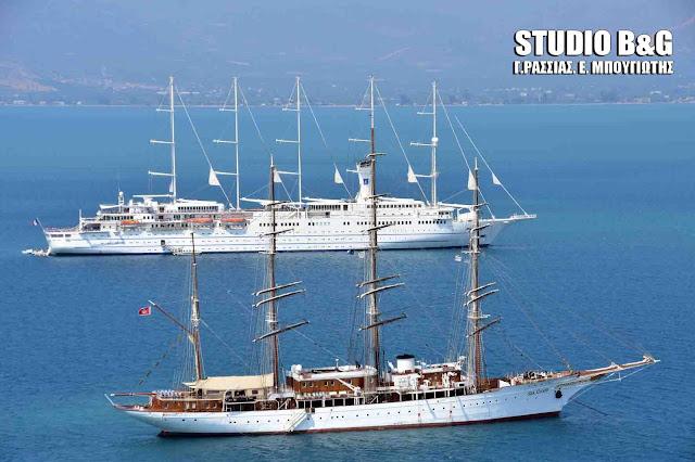 Club Med 2: Το μεγαλύτερο ιστιοφόρο κρουαζιερόπλοιο βρίσκεται στο Ναύπλιο (βίντεο)