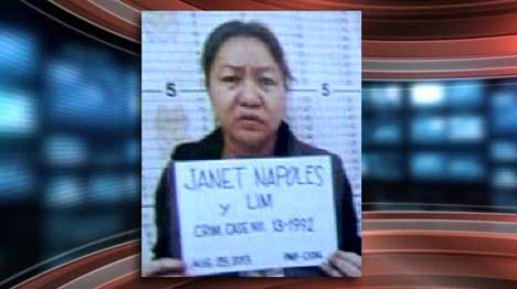 Photo: Janet Lim Napoles mugshot