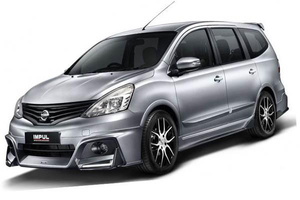 Nissan Grand Livina 2017 Hadir Dengan Desain Lebih Sporty