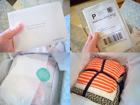 opening My Stitch Fix Box #4