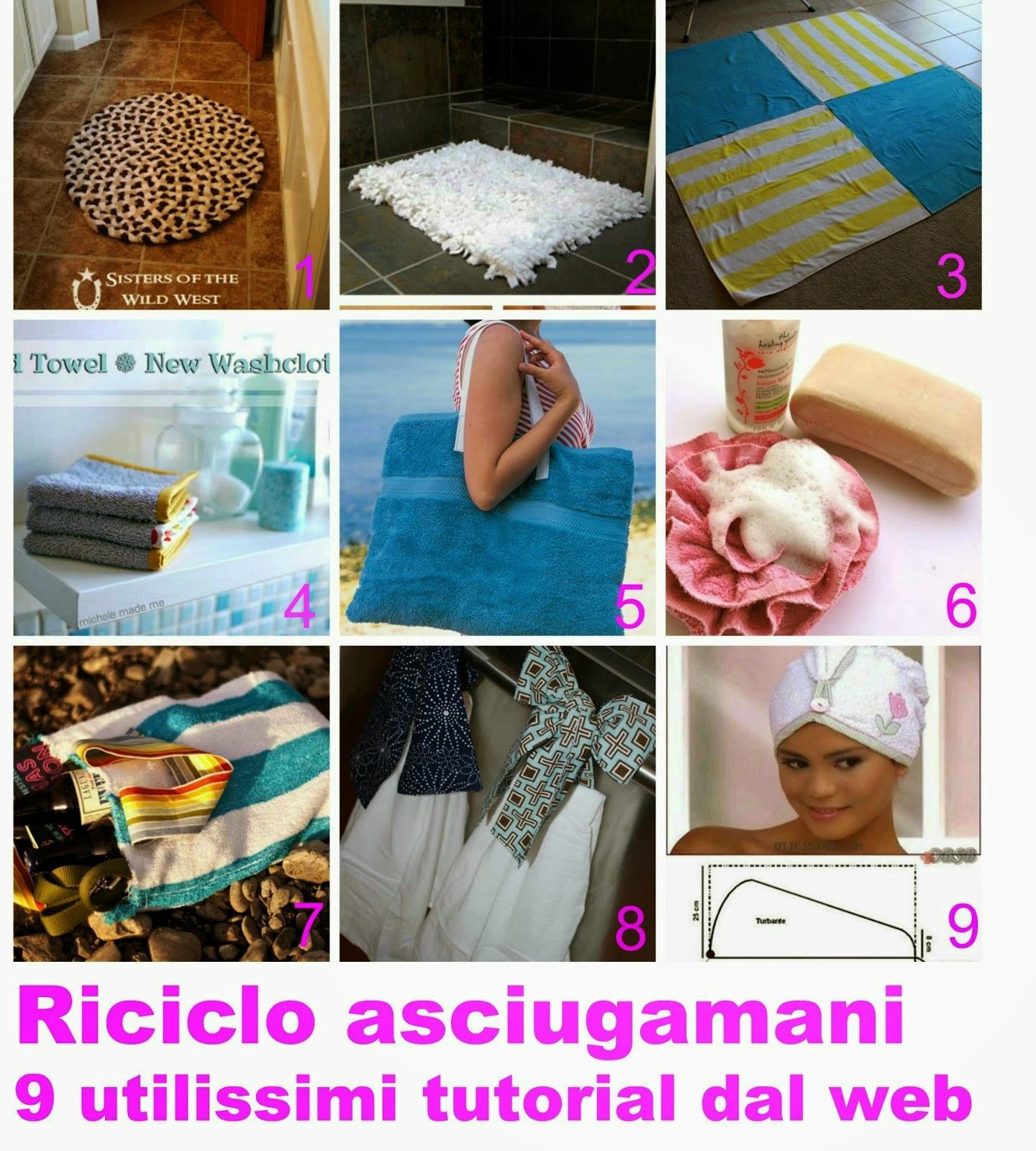 Estremamente 9 Tutorial - Come riciclare gli asciugamani | donneinpink magazine NX21