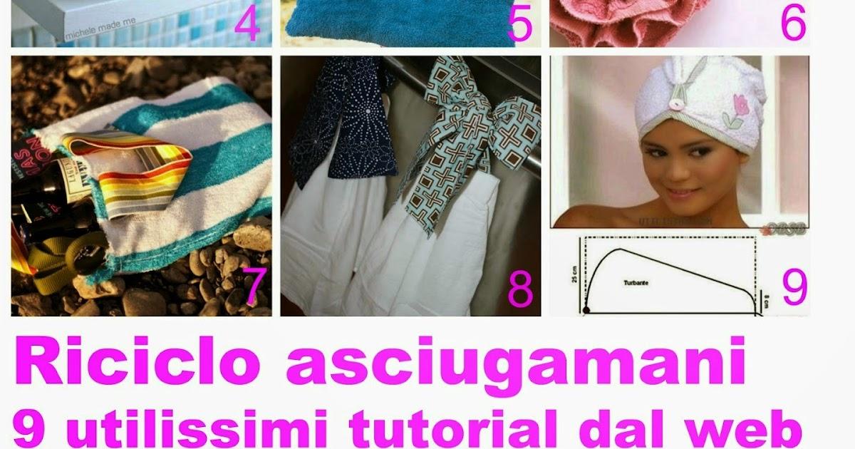 Favoloso 9 Tutorial - Come riciclare gli asciugamani | donneinpink magazine ZA49